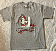 Vintage 1997 HICKORY CRAWDADS MILB T-SHIRT MINOR LEAGUE SIZE Medium.