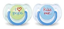 Philips Avent 2 Beruhigungssauger / Schnuller 6 - 18 Monate I LOVE PAPA