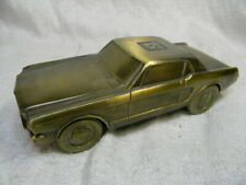 VINTAGE BANTHRICO 1965 FORD MUSTANG COUPE METAL COIN BANK