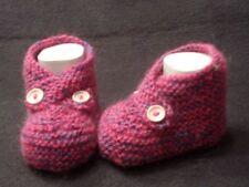 Größe 16 Unisex Baby-Schuhe mit Strick/Gehäkeltem