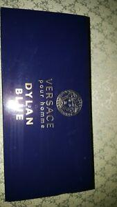 Versace Dylan Blue 5 ml EDT Mens cologne + 25 ml gel & after shave Balm Gift SET
