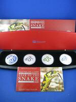 2013 AUSTRALIAN LUNAR SILVER COIN SERIES II - SNAKE - TYPESET COLLECTION - #66