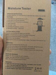 Burley Moisture Detector  Wood Caravan Motorhome New