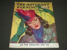 1941 OCTOBER 11 THE SATURDAY EVENING POST MAGAZINE - ILLUSTRATED COVER - SP 263