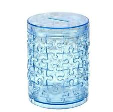 Pen Container Money box 3D Crystal Blocks Puzzle Jigsaw 51pcs Intelligence Gift