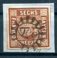 Bavaria Number Stamp Gmr 556 On 4II Ideal Postmarked (H0437