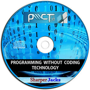 NEW & Fast Ship! PWCT Learn Programming The Easy Way Without Coding Software PC