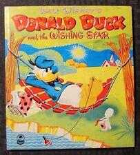 1952 Donald Duck And The Wishing Star Hc Fvf 7.0 Whitman Cozy Corner Disney