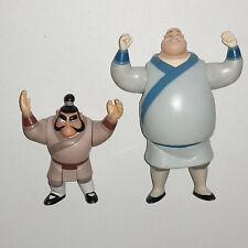Figuren Yao & Chien-Po - Begleiter von Mulan - Disney Mattel 1998 / Sammlung