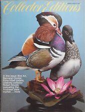 BIRD ART / BACCARAT CRYSTAL / EDNA HIBEL Summer 1982 COLLECTORS EDITIONS