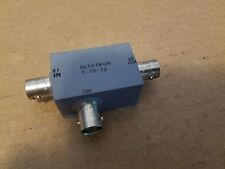 Olektron B-1S-70 Microwave Switch BNC(f) RF IN OUT SW SPST Signal Modulator? #19