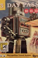 *RARE* 3 Day Pass SDCC San Diego Comic Con 2015 MTS PASS ** COLLECTORS ITEM **