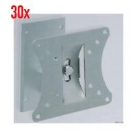 """30x TV-Wandhalterung 10"""" - 25""""  25 - 65 cm max. 20 kg schwenk neigbar 10-25 Zoll"""