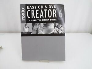 1994 - 2003 Roxio Easy CD and DVD Creator 6 Book Only