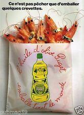 Publicité advertising 1990 Huile d'Olive Puget