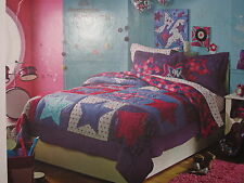 NEW CIRCO STAR POWER 11 PC FULL COMPLETE BED QUILT SHAMS SHEET SET PILLOW DECALS
