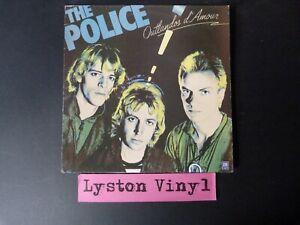 """The Police - Outlandos d'Amore 12"""" Vinyl LP"""