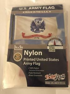 Betsy Flags ARMY 1775 New Retail packaging Nylon 3 ft x 5 ft NEW