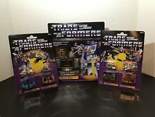 TRANSFORMERS G1 REISSUE SOUNDWAVE WITH ALL 4 CASSETTES INCLUDED 2019 WALMART SET