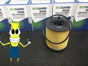 Premium Oil Filter for Chevrolet Classic with 2.2L Engine 2004 2005 Pack of 5