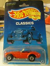 Hot Wheels Classic Classic Cobra Red from 1986