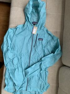Patagonia Houdini Running Jacket Windbreaker - Women's Large ~ $99.00 24147 Blue