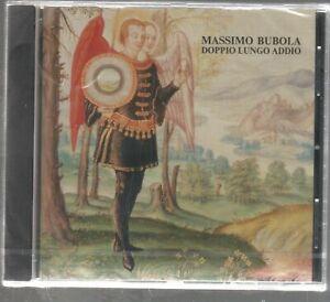 MASSIMO BUBOLA DOPPIO LUNGO ADDIO CD NUOVO CELOPHANATO
