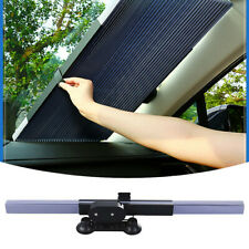 120*46CM Car Retractable Windshield Sun Shade Block Sunshade Cover Front/Rear