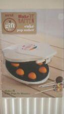 NEXT CAKE POP MAKER BNIB