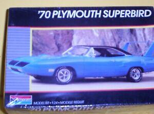 Monogram  1/24  scale  1970  Plymouth  Superbird   model  car ---  SEALED  OLDIE