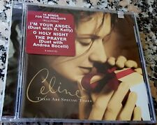 CELINE DION Special Times NEW CHRISTMAS CD Bocelli Bryan Adams R Kelly Foster
