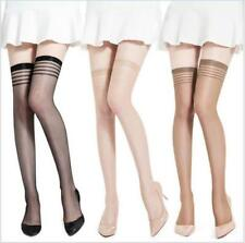 Sexy Women Lady Thigh-High Silk Stockings Knee Socks Tights