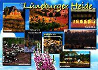 Lüneburger Heide , Ansichtskarte, gelaufen