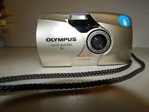 Olympus Stylus Epic DLX Camera - All Weather, Multi AF 35mm Camera F/2.8 Nice!