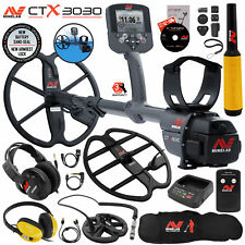 Minelab CTX 3030 Waterproof Metal Detector w/ Pro Find 35, 3 Search Coils & More