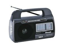 SuperSonic SC-1082 9-Band AM/FM/SW1-7 Portable Radio USB/SD In/Torch Light