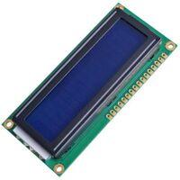 10x(1602 16 x 2 LCD-Zeichen-Modul Blau  GY E2F0