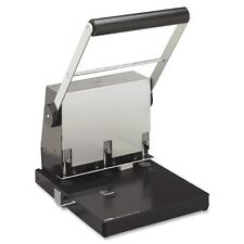 "Carl Heavy-duty 3 Hole Punch - 3 Punch Head[s] - 300 Sheet Capacity - 9/32"" -"