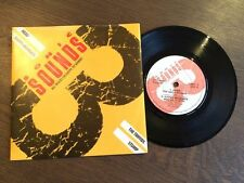 "SONIC suoni 3 EP UK 7"" VINYL 1987 NM/EX + Happy MONDAYS testa il moncone Trifidi"