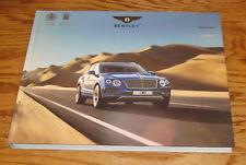 Original 2017 Bentley Bentayga Hardcover Book Sales Brochure 17