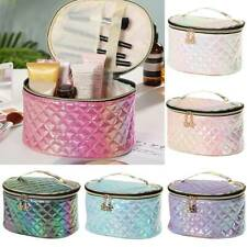 Womens Travel Case Handle Organizer Storage Box Pouch Large Makeup Cosmetic Bags