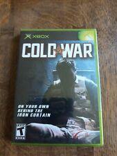 Cold War Microsoft XBOX Original (NTSC) Game New and Sealed