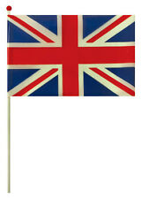 Bulk Wholesale Job Lot 144 Union Jack Plastic Flags Toys