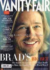 Vanity Fair June 2013 Brad Pitt Carla Bruni Oscar Pistorius Steve Cohen Baldwin
