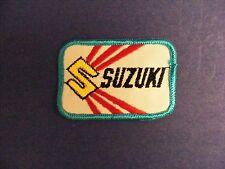 Suzuki patch, motorcycle