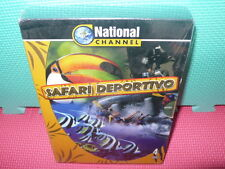 SAFARI DEPORTIVO - PACK 4 DVDS - NATIONAL CHANNEL -