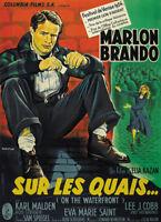 On the Waterfront Marlon Brando vintage movie poster print #3