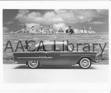1955 Chevrolet Bel Air Four Door Sedan, Factory Photo (Ref. # 31485)