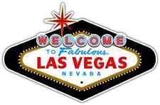 "Welcome to Fabulous Las Vegas sign Car Bumper Window Locker Sticker Decal 5""X4"""