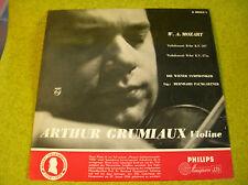 LP MOZART-GRUMIAUX-Violine-KV 207/271-PHILIPS A00313